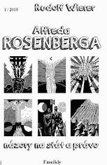 """16. sešit edice """"Fascikly"""":  Názory Alfreda Rosenberga na stát a právo"""