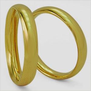 Alianças de casamento baratas