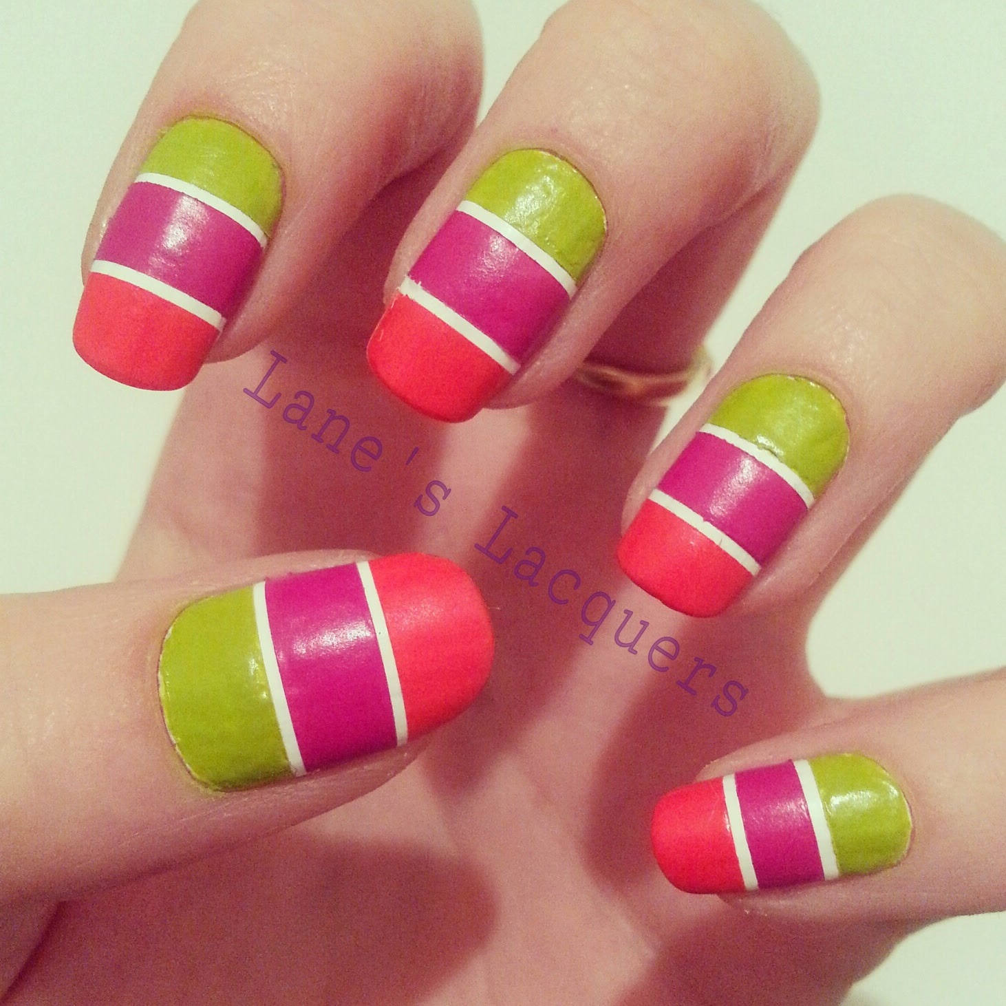 barry-m-summer-matte-trio-tape-nail-art (2)