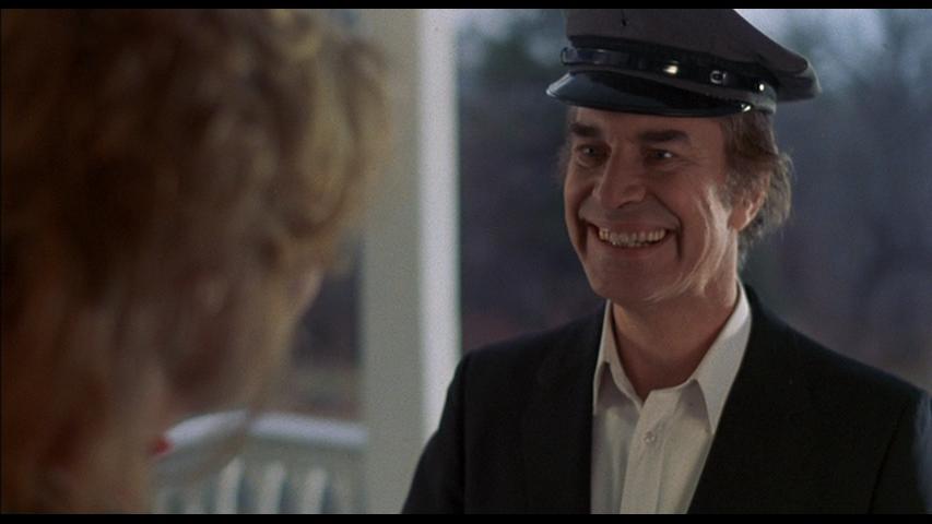 Martin Landau makes a delivery in Alone In The Dark (1982)
