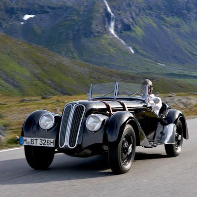 BMW 328 Año 1936 Versión Roadster (Autos Clásicos)