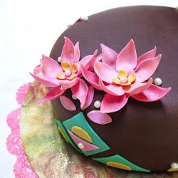 Los pasteles decorados de Su...