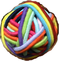 The ball of hair ties....