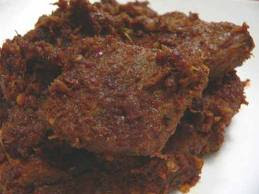 resep daging rendang hitam