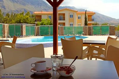 Monachus Monachus Apartments: Greek yogurt and apple marmalade