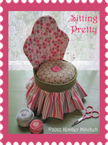 SOME OF MY PUBLISHED PINCUSHION DESIGNS (ALL PRICES LISTED BELOW ARE FOR PATTERNS)