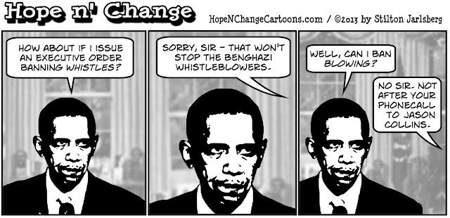 obama, obama jokes, benghazi, whistleblowers, lies, hillary, jason collins, terror, Al Qaeda, stilton jarlsberg, conservative, tea party, hope n' change, hope and change