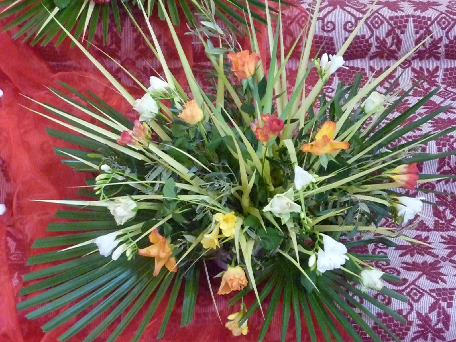 Arte floreale per la liturgia fioritura per la domenica - Colorazione pagine palma domenica ...