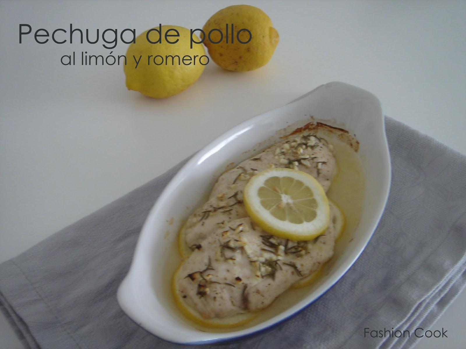 Fashion cook pechugas de pollo al lim n y romero - Pechugas de pollo al limon ...