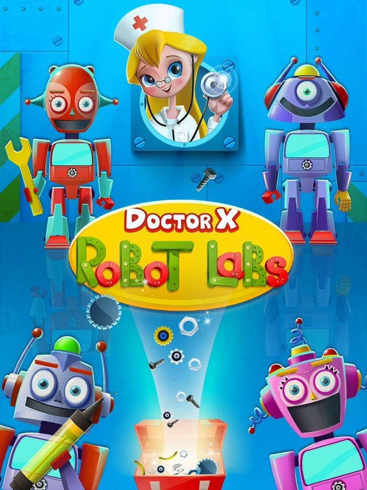 Doctor X: Robot Labs App iTunes App By Kids Fun Club by TabTale - FreeApps.ws