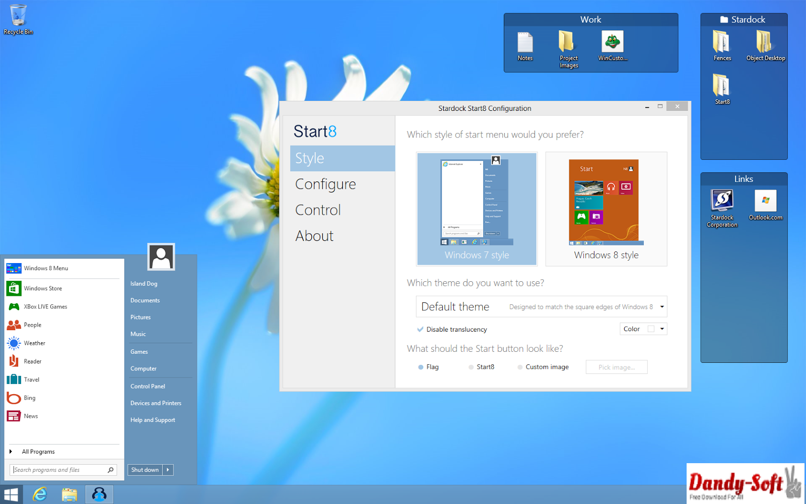 Stardock Fences 2.12.613 Full Version