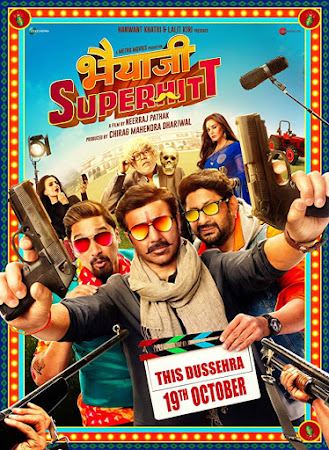 Poster Of Bollywood Movie Bhaiaji Superhit 2018 300MB Pdvd Full Hindi Movie
