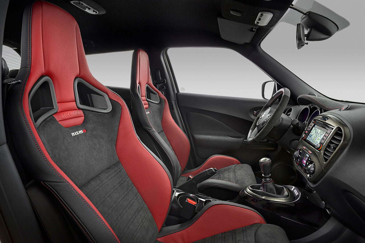 Nissan Juke Nismo RS interior