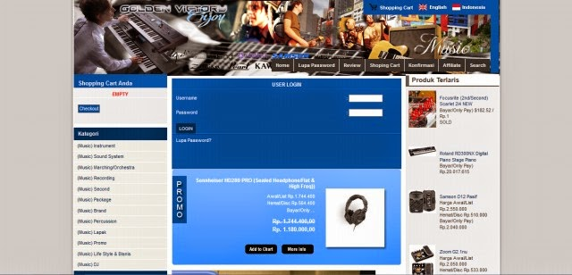 Goldenvictoryonline.com Toko Online Alat Musik Terpercaya