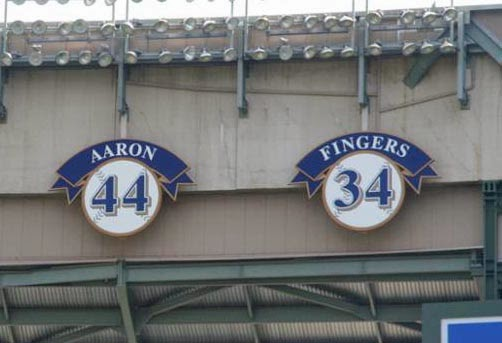 Ring of Honor at Miller Park