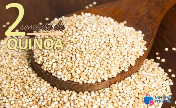 Semente de Quinoa - Sementes para Emagrecer