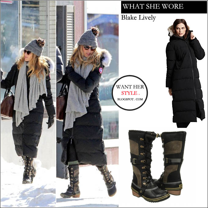 Canada Goose chilliwack parka sale price - February 2013 ~ I want her style - What celebrities wore and where ...