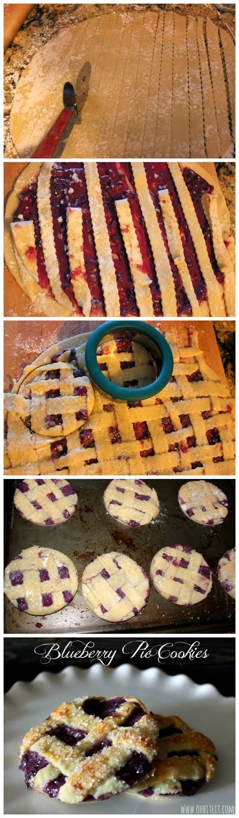 Blueberry Pie Cookies