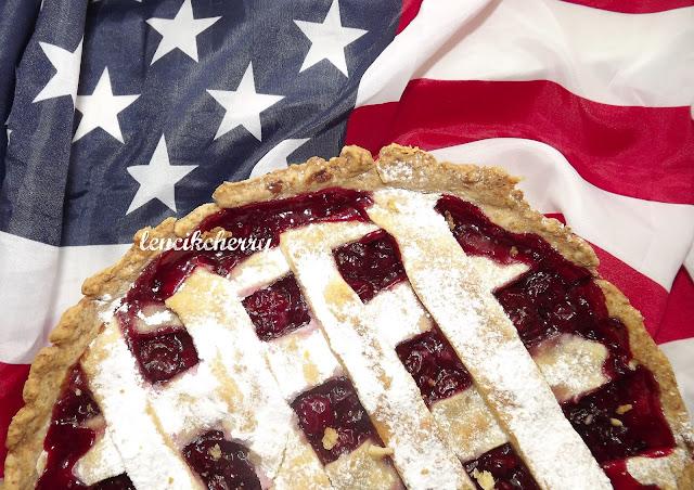 пирог вишневый американский
