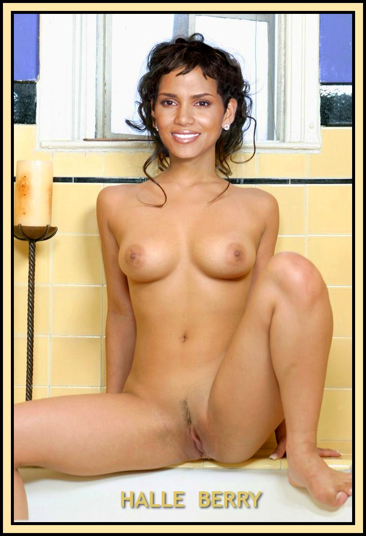 Halle berry fake nude naked