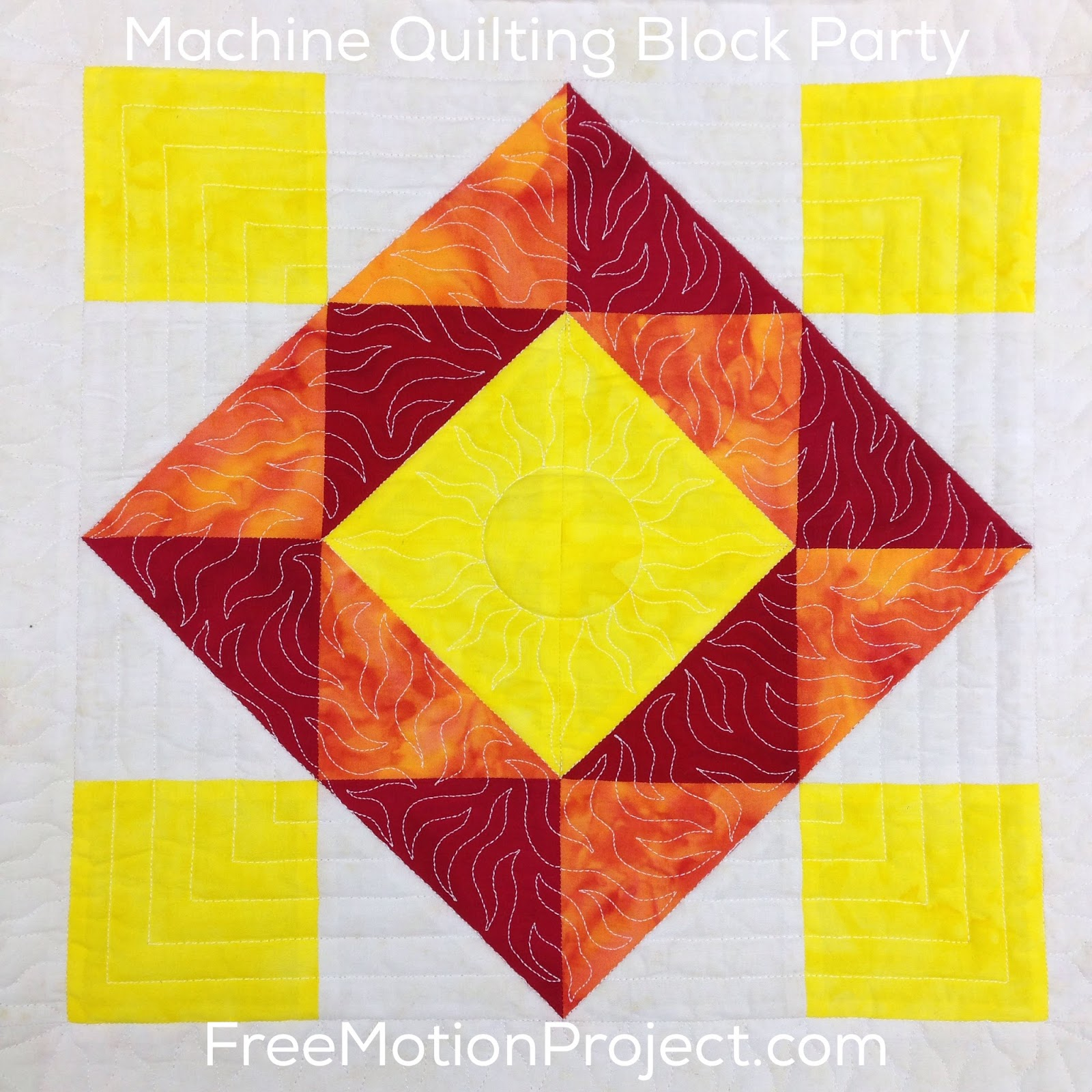 how to free motion quilt on a sewing machine