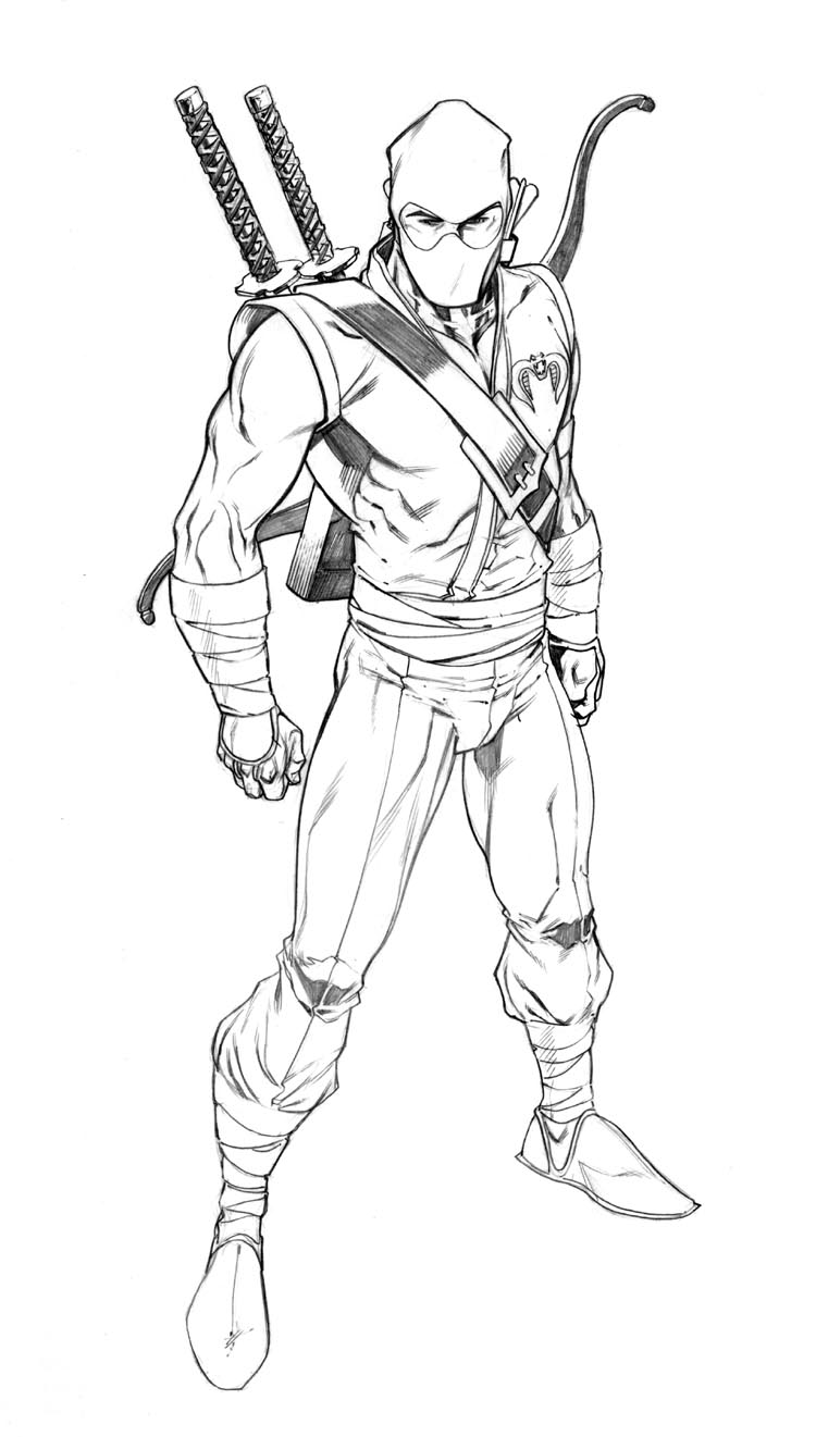 G i joe snake eyes storm shadow coloring pages coloring pages for Gi joe coloring pages