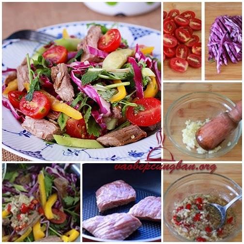 Cách làm Salad thịt bò kiểu Thái 1