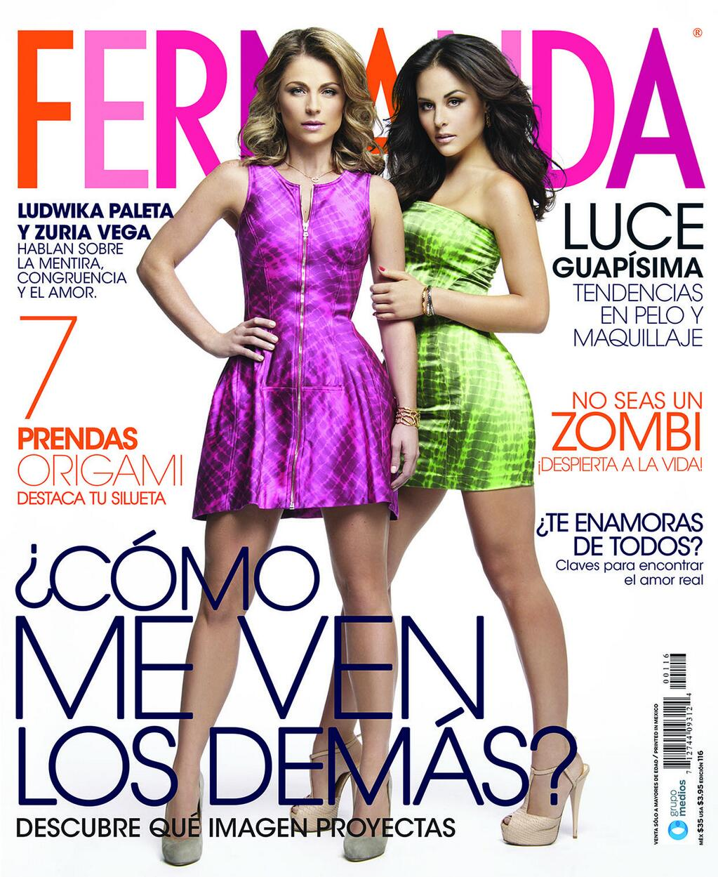 Actrices y actores latinos: Fernanda - Ludwika Paleta y Zuria Vega