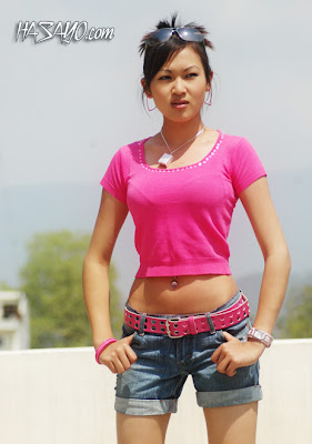 Hot Nepali Model Alina Gurung