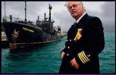 El fundador de Sea Shepherd Paul Watson, capitán del Steve Irwin