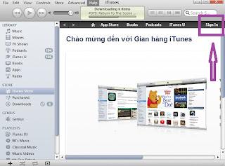 Đăng ký tài khoản iTunes