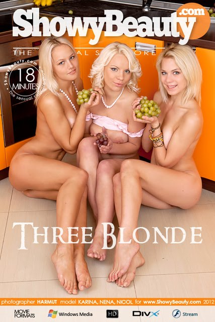 VhgrjbjliowBeautr 2012-11-29 Karina, Nena, Nicol - Three Blonde (HD Video)