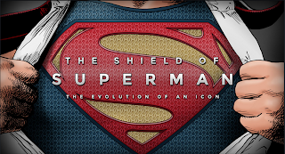 man of steel infographic of the icon of superman