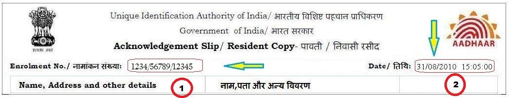 Aadhar Card Address Change Online & Offline Form And Process - E