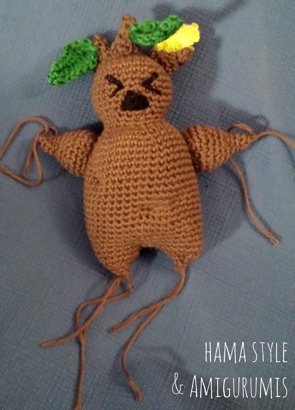 Marta Ruso Crochet Creativo: #ElFrikiReto - Mandrágora de Harry ...