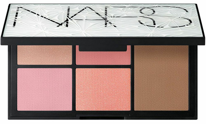 A picture of the NARS Virtual Domination Cheek Palette