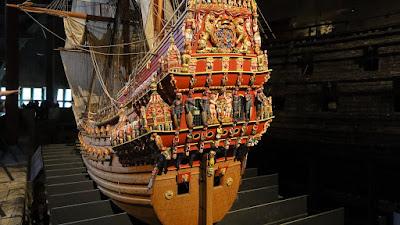 Modelo a escala del buque en el Museo Vasa