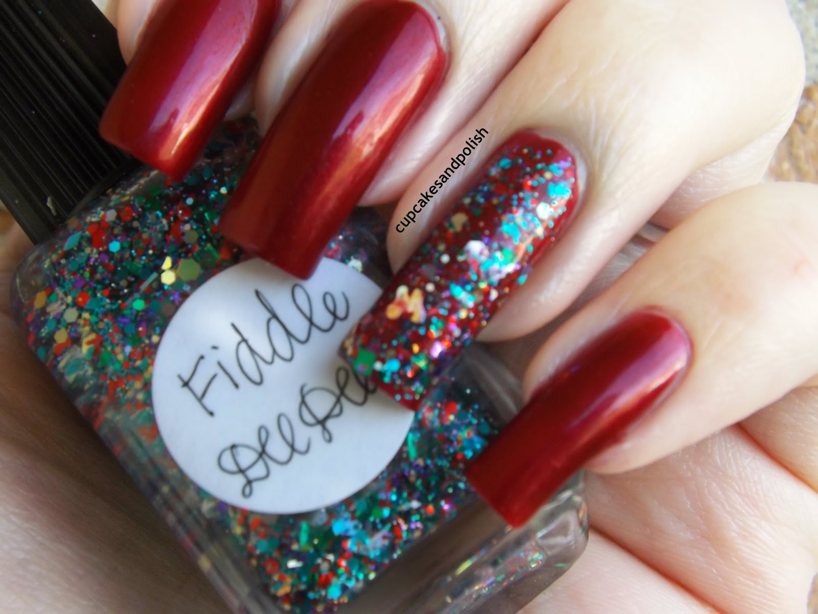 ♥Cupcakes and Polish♥: Lynnderella Fiddle Dee Dee Swatches and a ...