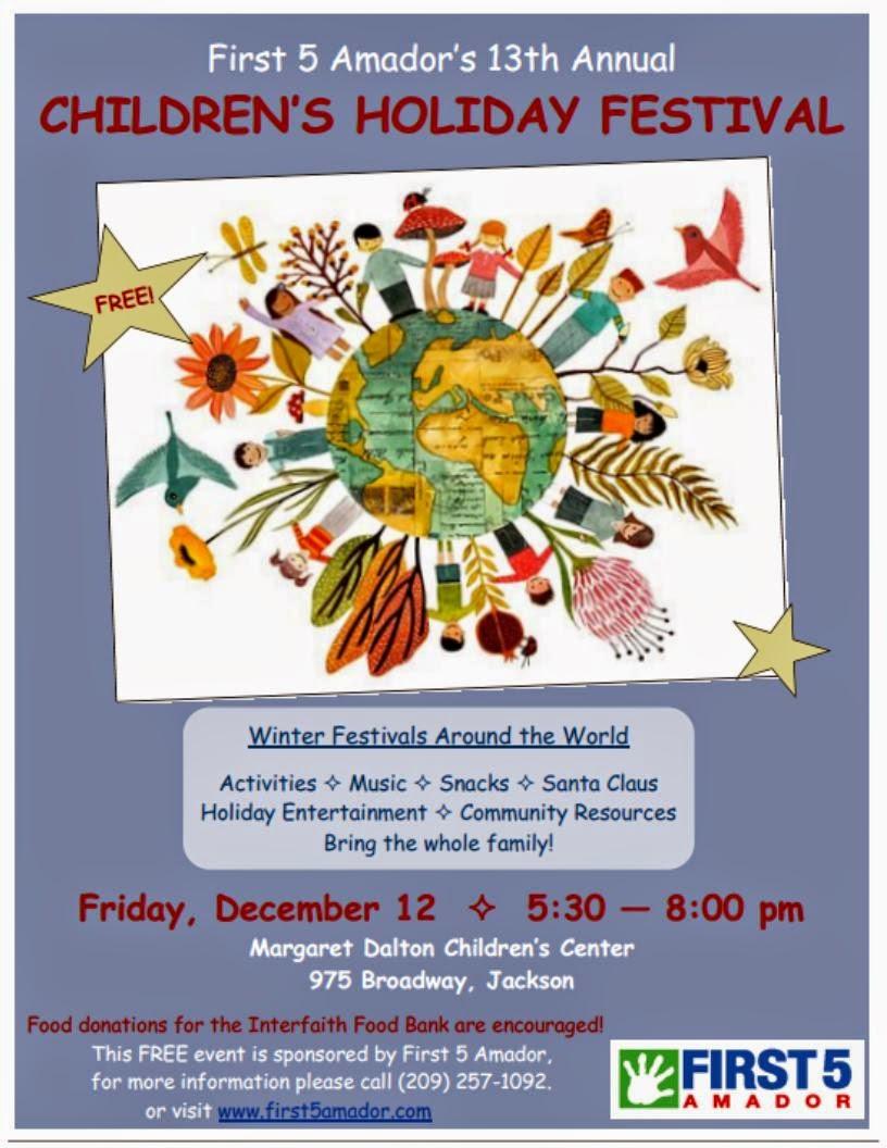 13th Annual Children's Holiday Festival - Fri Dec 12