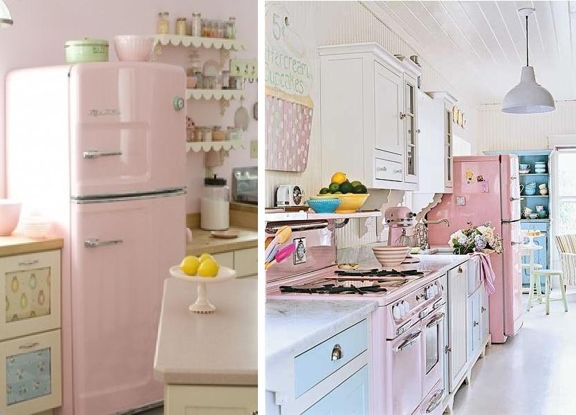 Cozinhas Para Ajudar A Te Inspirar Neste Momento Cozinha Vintage~ Decoracao Cozinha Vintage