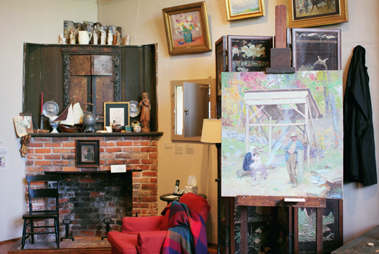 Gari Melchers' art studio