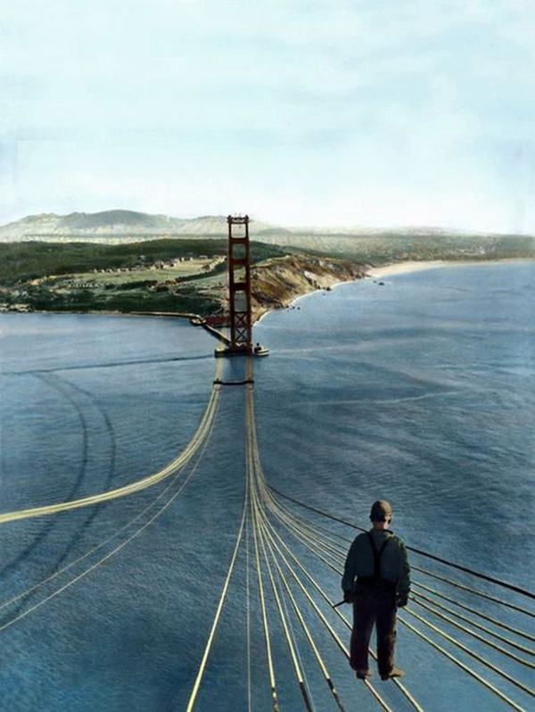 Golden Gate Bridge, 1933-37