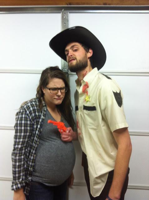 Walking Dead, Rick Grimes, Lori, Rick and Lori, Pregnant Lori