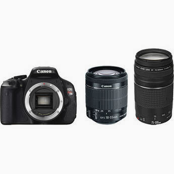 Canon T3i two lens bundle