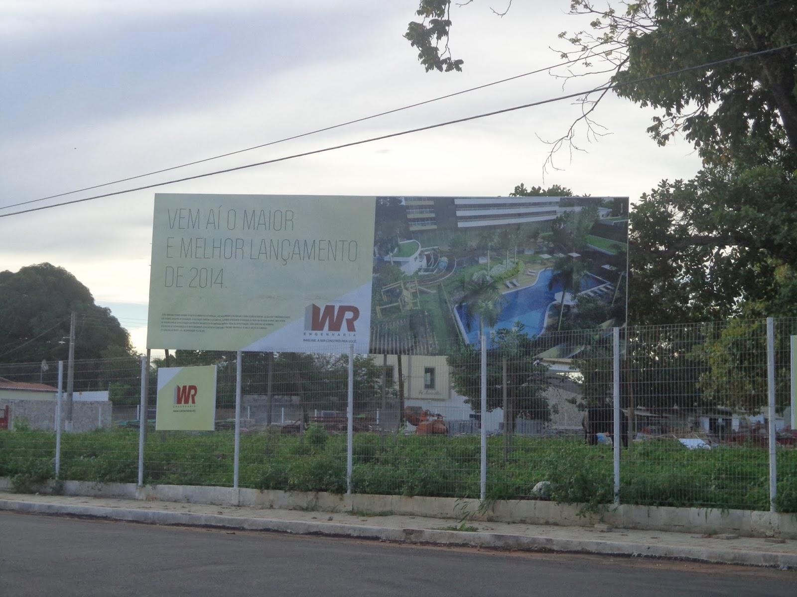 Local do futuro Condomínio Jardins da Praça.