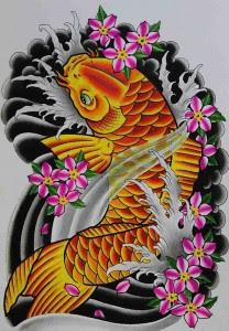 Japanese Tattoos Fish