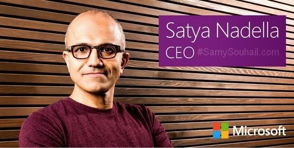 ما لا تعرف عن Satya Nadella الرئيس التنفيذي الجديد لشركة مايكروسوفت