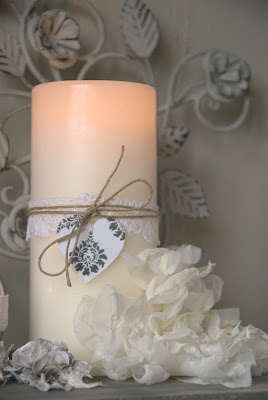 Handmade stoffen bloem jalien