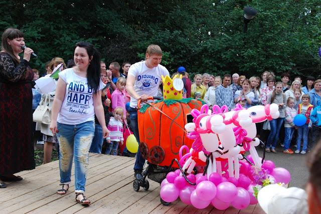 Парад колясок 2015 в парке Пушкина