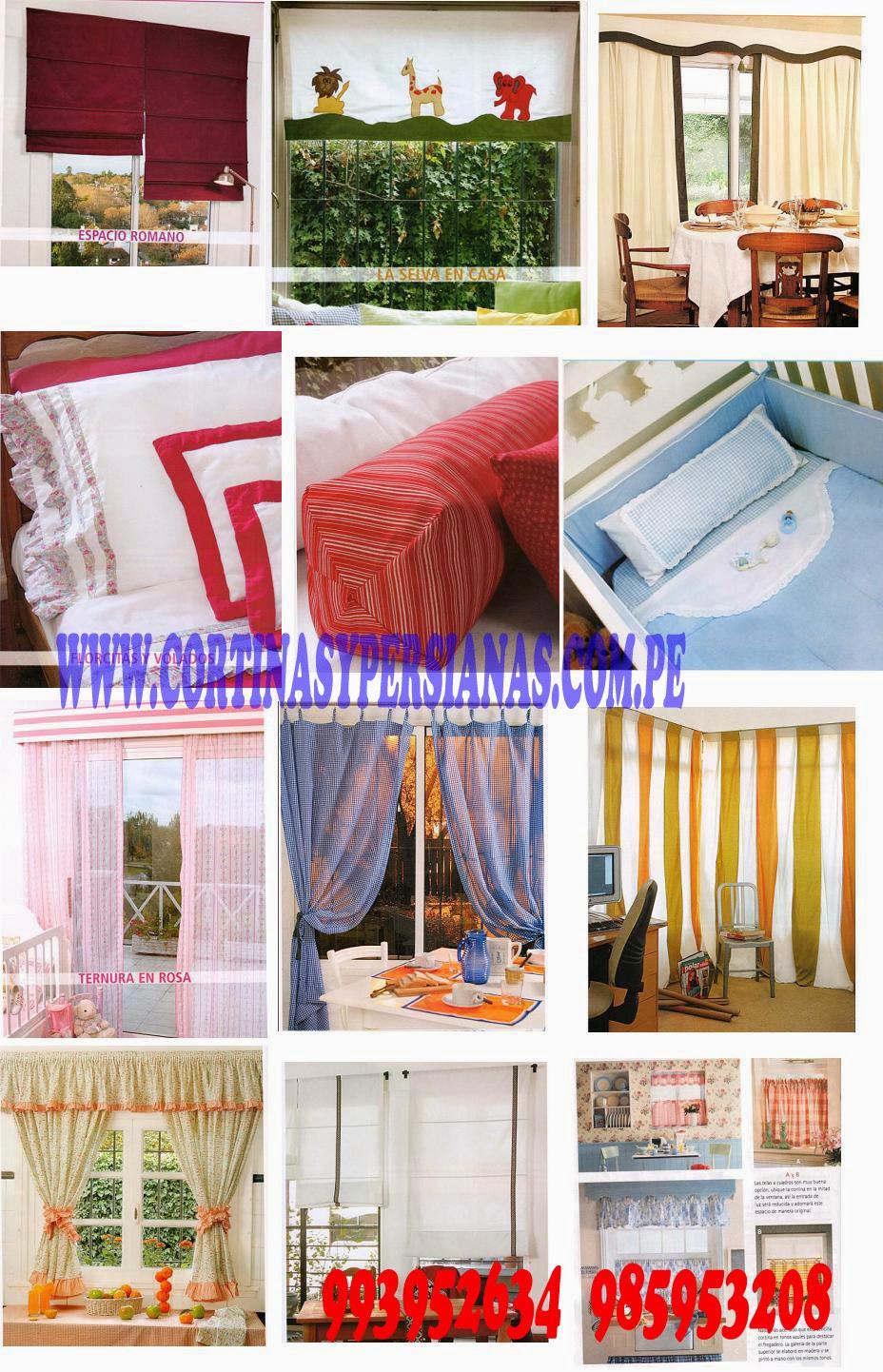 Cortinas peru confeccion de cortinas cortinas para sala cortinas para dormitorios cortinas - Confeccion de estores ...